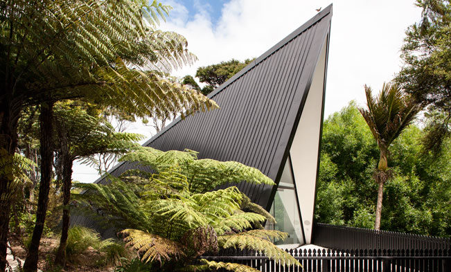 Tent House by Chris Tate Architecture