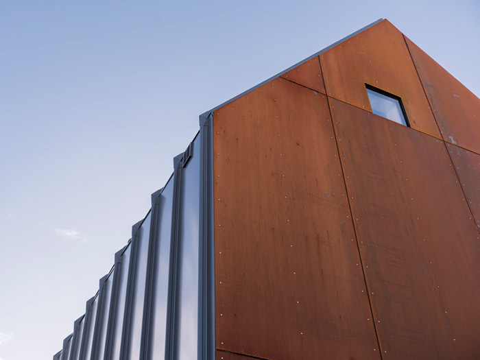 Corten meets Colorsteel