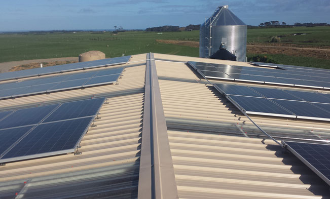 PKW Frarms - Commercial solar installation