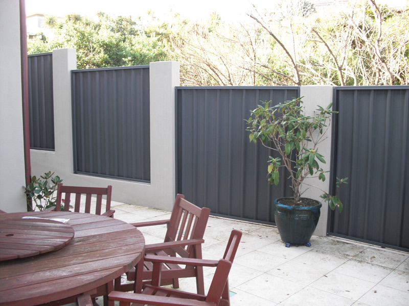 Metalcraft fencing is simple to install